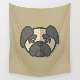 I'm a Pug Person Wall Tapestry