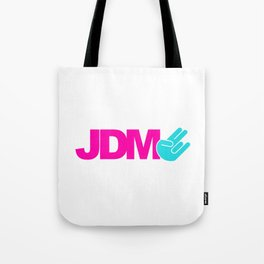JDM shocker v6 HQvector Tote Bag