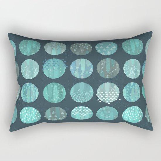 CELESTIAL BODIES - MIDNIGHT Rectangular Pillow