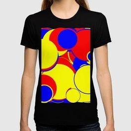 Abstract Large Circles T-shirt