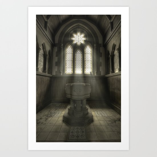 Fountain of God Art Print