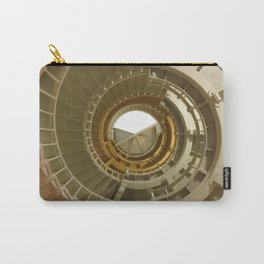 Gray's Harbor Lighthouse Stairwell Spiral Architecture Washington Nautical Coastal Carry-All Pouch