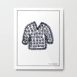 WOOLLY JUMPER - SWEATER TO YOU Metal Print