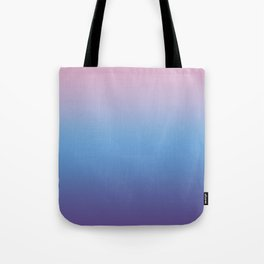 Ombre Pink Blue Ultra Violet Gradient Pattern Tote Bag