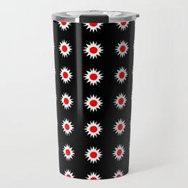 stars 47- red and white Travel Mug