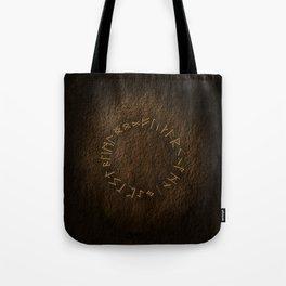 Viking Runes Tote Bag