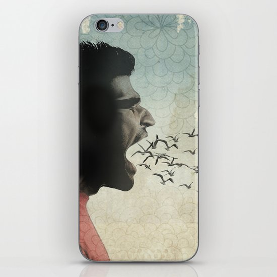 the sound of birds iPhone & iPod Skin