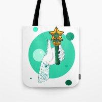 sailor jupiter Tote Bags featuring Jupiter by scoobtoobins