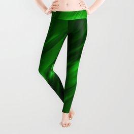 Abstract green 217 Leggings