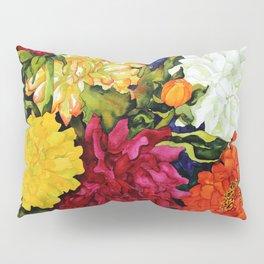 Dahlia Delight Pillow Sham