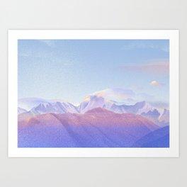 Dhaulagiri seen from Poon Hill • Nepal Trekking Series Art Print