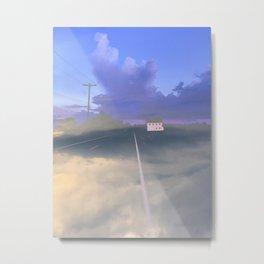 Clouded Mind Metal Print