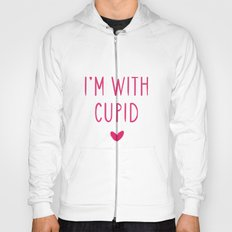 I'm With Cupid Hoody