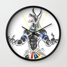 Anpu of the Underworld Wall Clock