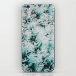 Marbled Waves iPhone Skin