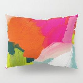 abstract pink art Pillow Sham