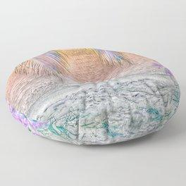 Paradiso, soft Floor Pillow