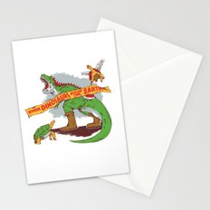When Dinosaurs ruled the earth Stationery Cards