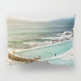 Bondi Icebergs Club | Bondi Beach Sydney Australia Ocean Coastal Travel Photography Pillow Sham