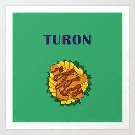 Filipino Kitchen Loteria - Turon Art Print