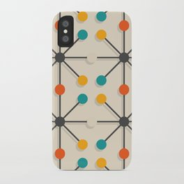 Midcentury Pattern 02 iPhone Case