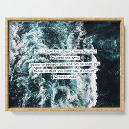 Jeremiah Ocean Serving Tray