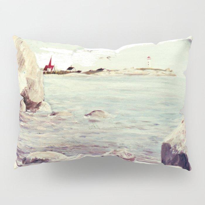 Peggy's Cove, Nova Scotia, CANADA   by Kay Lipton Pillow Sham