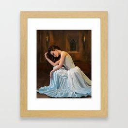 Praying Framed Art Print