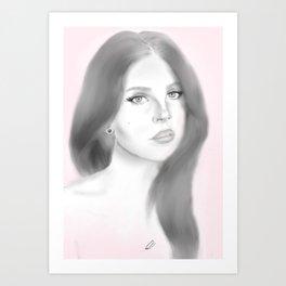 Del Rey Art Print