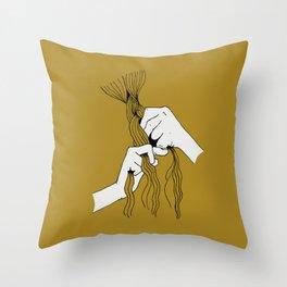 Braiding Throw Pillow