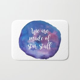 We are made of star stuff Bath Mat