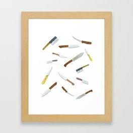 Chop Chop Slice Dice Framed Art Print
