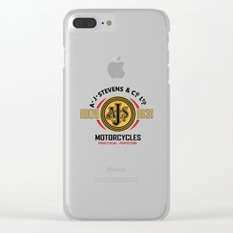 AJS Motorcycle Clear iPhone Case