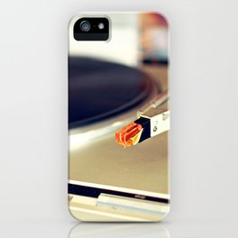 Vinyl Lover iPhone Case