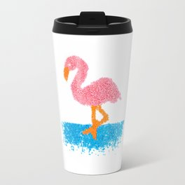 Sprinkle Flamingo Travel Mug
