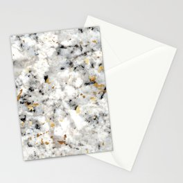 Classic Marble with Gold Specks Stationery Cards