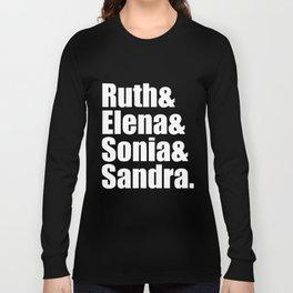 ruth elna sonia sandra wife Long Sleeve T-shirt