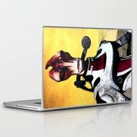 garrus Laptop & iPad Skins featuring Mass Effect - Mordin Solus by MarcoMellark