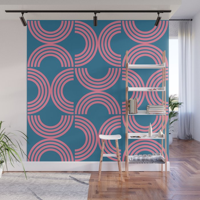 Deco Geometric 01B Wall Mural