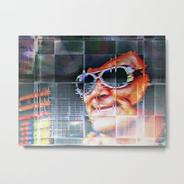 Elvis has left the building I Metal Print