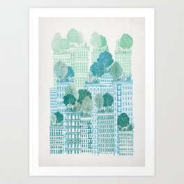 Juniper - A Garden City Art Print