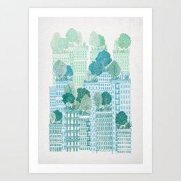 Juniper - A Garden City Art Print