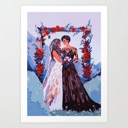 brides Art Print