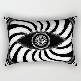 Psychedelic Eye of Wisdom Rectangular Pillow