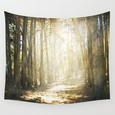 Fall On Your Knees Wall Tapestry