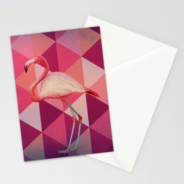 Phoenicopterus Ruber Stationery Cards