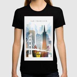 City of San Francisco painting T-shirt