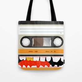The cassette tape golden tooth Tote Bag