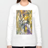 kandinsky Long Sleeve T-shirts featuring Abstract 26 by Har8