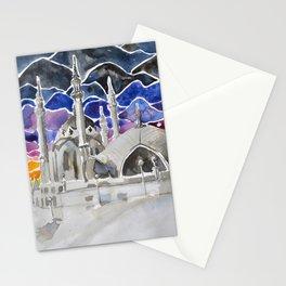 Kul Sharif Mosque, Kazan, Russia Stationery Cards